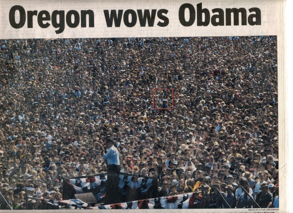 When Obama came to town